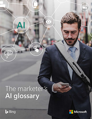 The Marketer's AI Glossary, Front Cover Thumbnail