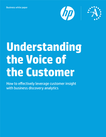 Understanding the Voice of the Customer