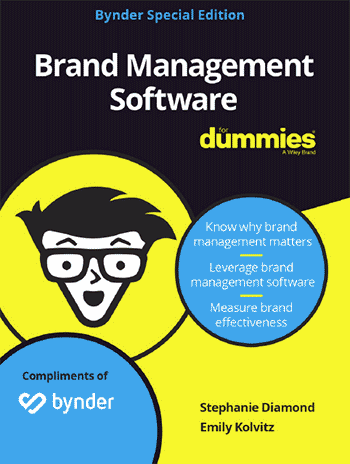 Brand Management Software for Dummies, eBook front cover thumbnail