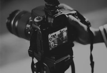 Camera recording video