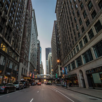 Empty high-street