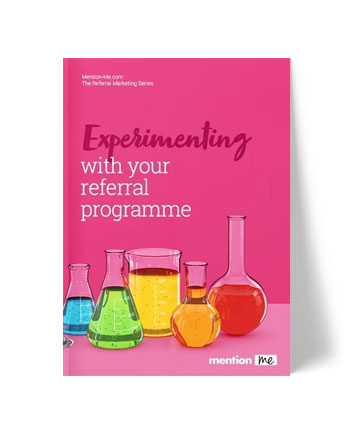 Experimenting with Your Referral Programme, Front Cover, Thumbnail