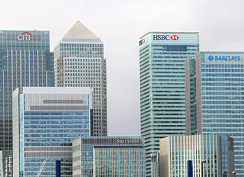 Financial Institutions, Canary Wharf