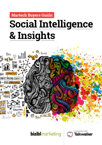 Social Intelligence & Insights Buyers Guide Front Cover Thumbnail