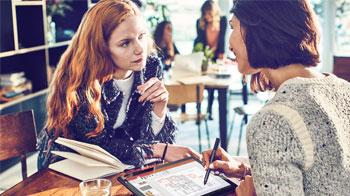 Business-people meeting