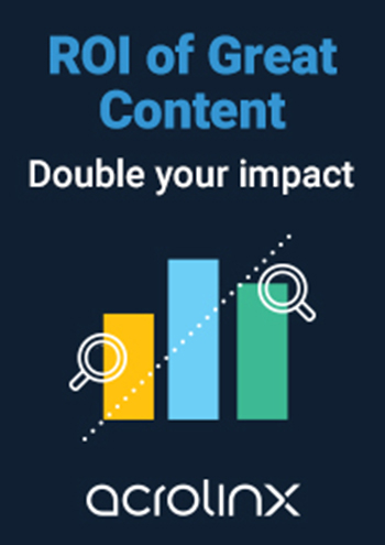 ROI of Great Content