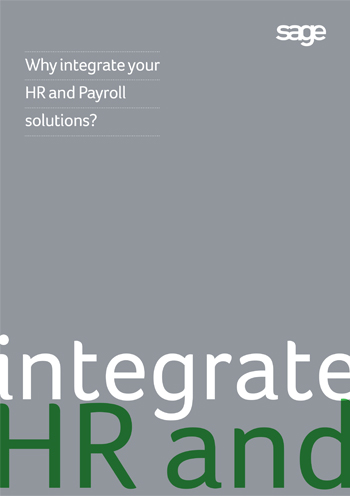 Integrate HR and Payroll
