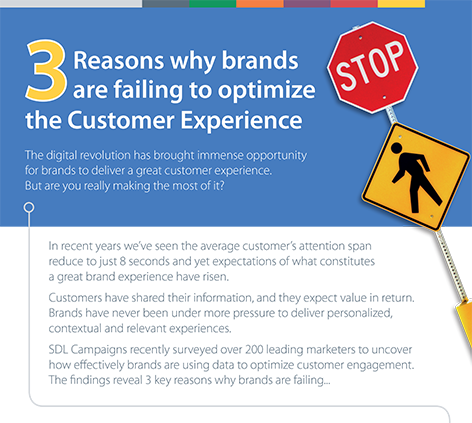 3 Reasons brands are failing to optimise the customer experience front cover