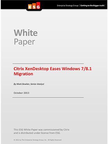 Citrix XenDesktop Eases Windows 7/8 1 Migration | bizibl com